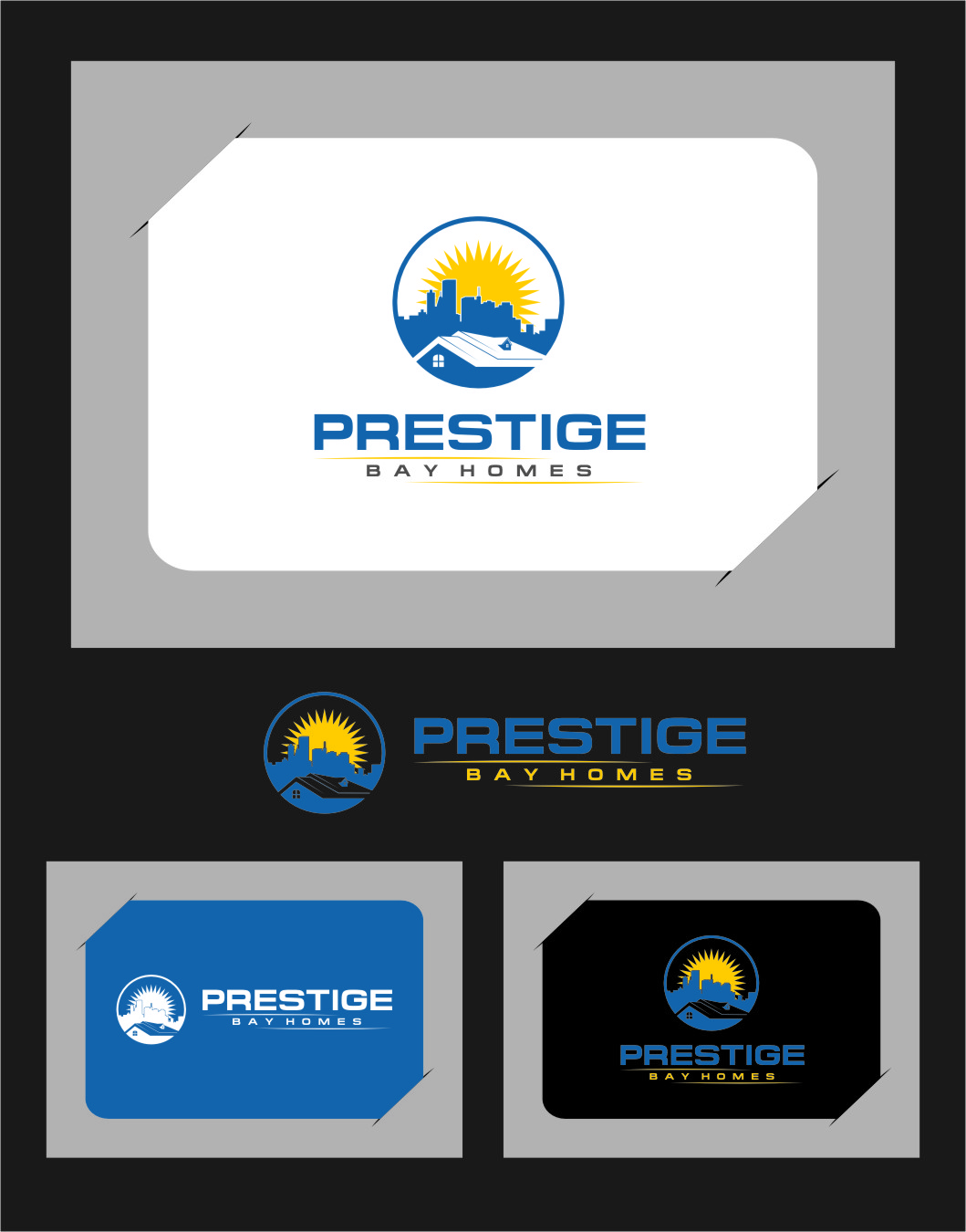 Logo Design by RoSyid Rono-Rene On Java - Entry No. 82 in the Logo Design Contest Imaginative Logo Design for Prestige Bay Homes.