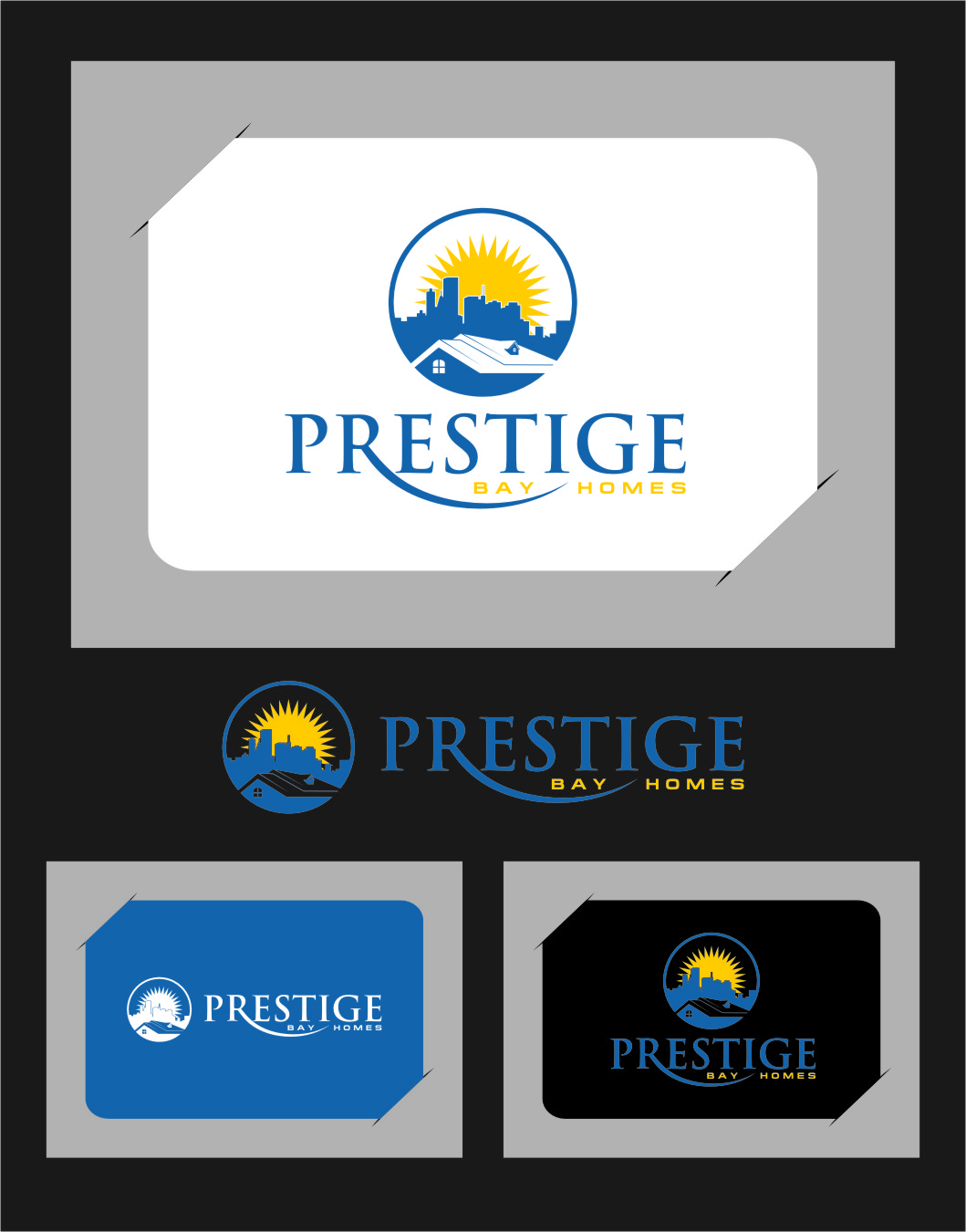 Logo Design by Ngepet_art - Entry No. 83 in the Logo Design Contest Imaginative Logo Design for Prestige Bay Homes.