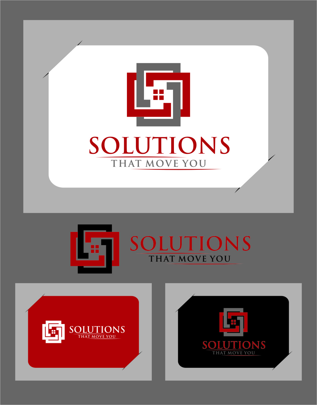 Logo Design by RasYa Muhammad Athaya - Entry No. 25 in the Logo Design Contest Imaginative Logo Design for Solutions That Move You.