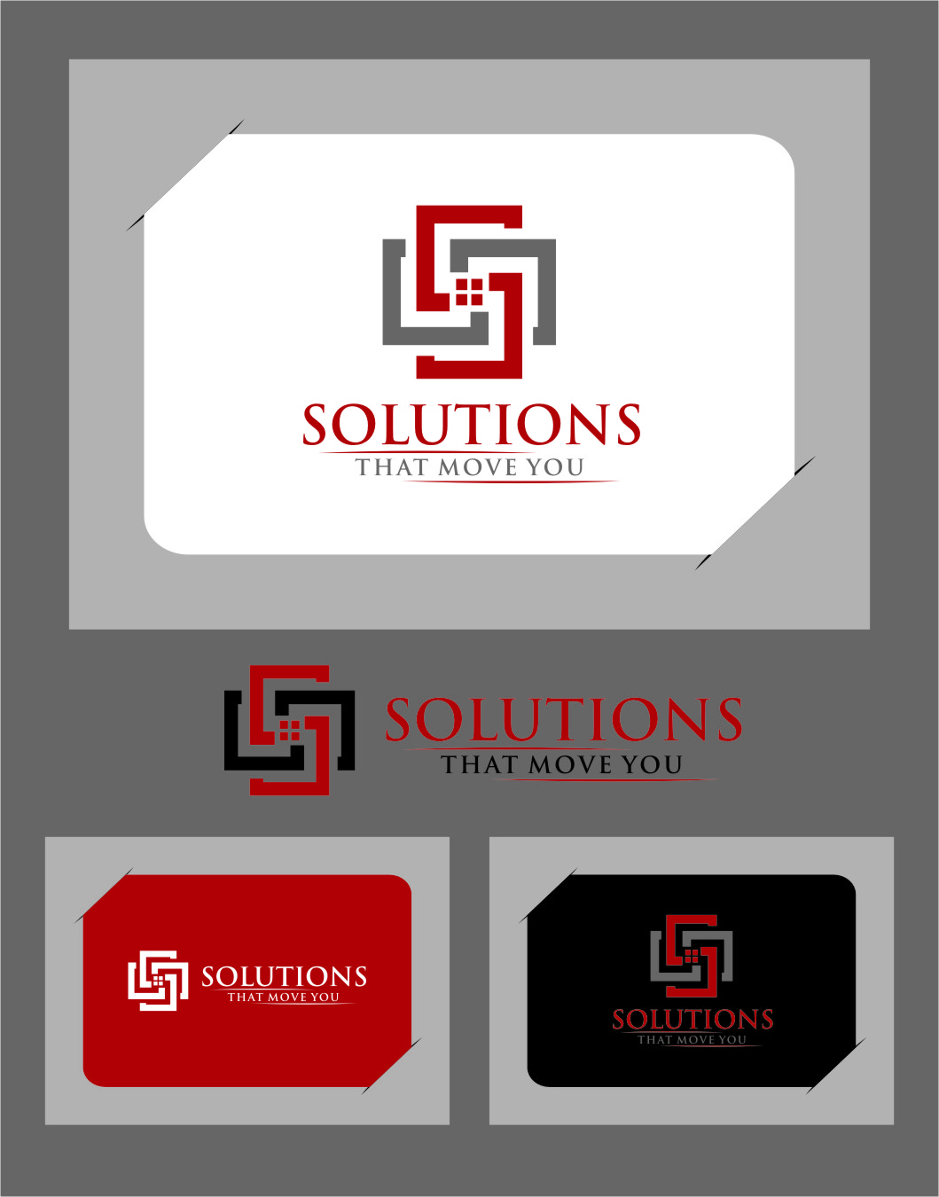 Logo Design by RasYa Muhammad Athaya - Entry No. 26 in the Logo Design Contest Imaginative Logo Design for Solutions That Move You.