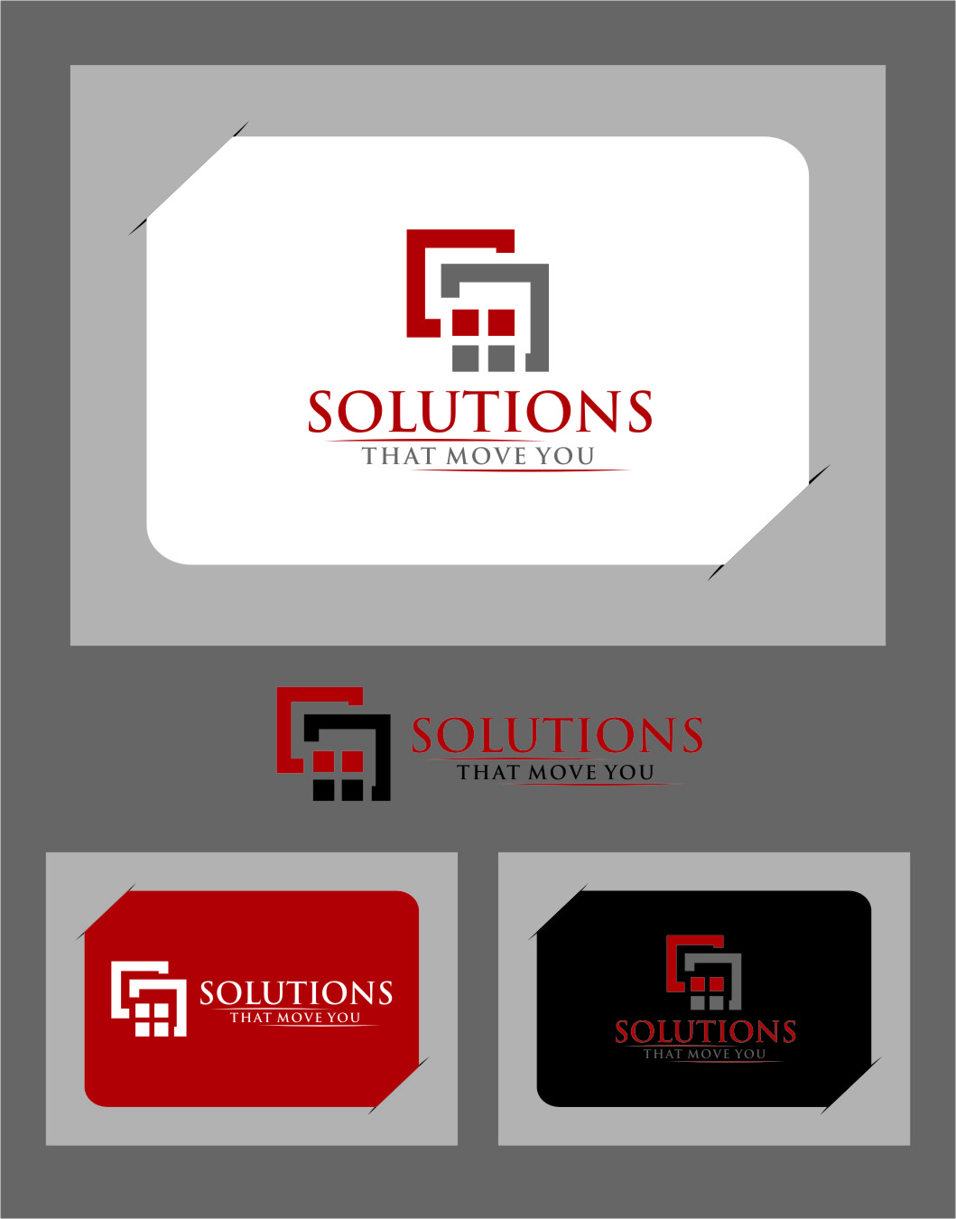 Logo Design by RasYa Muhammad Athaya - Entry No. 27 in the Logo Design Contest Imaginative Logo Design for Solutions That Move You.