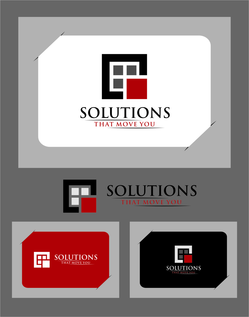 Logo Design by Ngepet_art - Entry No. 28 in the Logo Design Contest Imaginative Logo Design for Solutions That Move You.