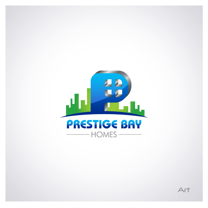 Logo Design by Puspita Wahyuni - Entry No. 99 in the Logo Design Contest Imaginative Logo Design for Prestige Bay Homes.
