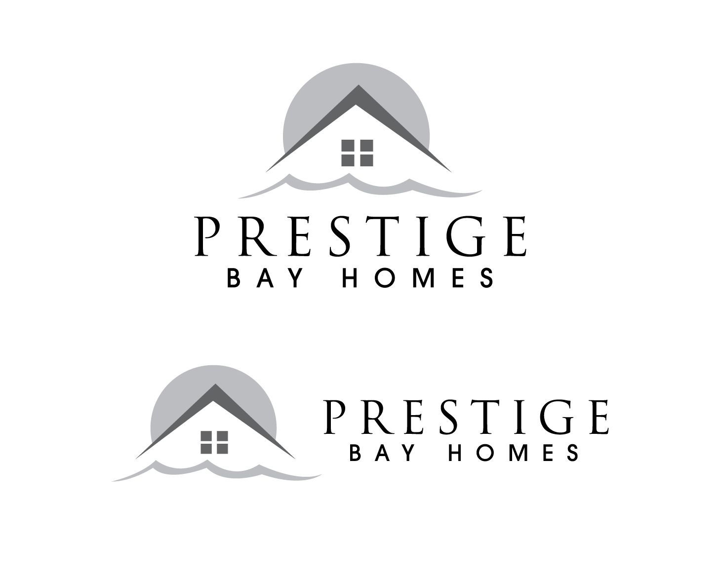 Logo Design by rA - Entry No. 100 in the Logo Design Contest Imaginative Logo Design for Prestige Bay Homes.