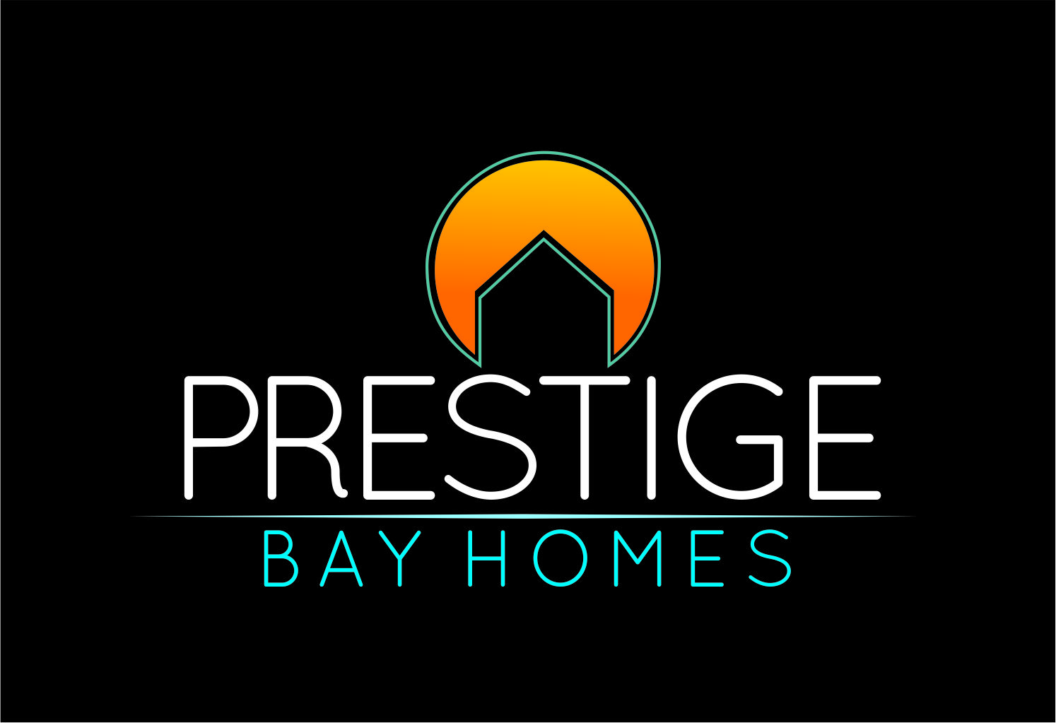 Logo Design by Private User - Entry No. 102 in the Logo Design Contest Imaginative Logo Design for Prestige Bay Homes.