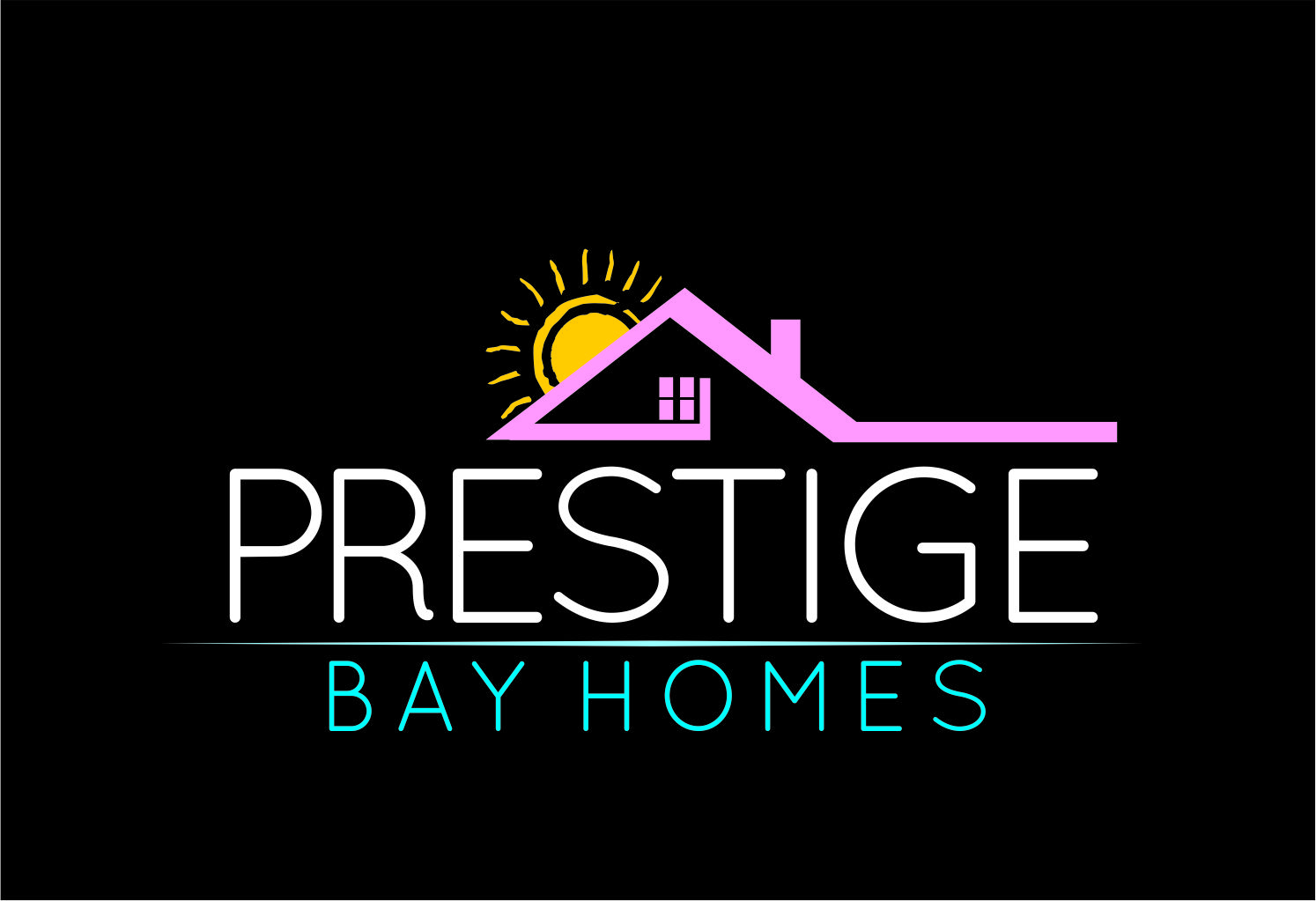 Logo Design by Private User - Entry No. 103 in the Logo Design Contest Imaginative Logo Design for Prestige Bay Homes.