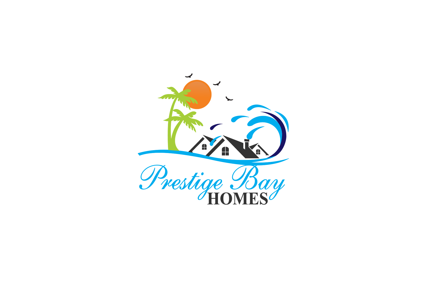 Logo Design by Private User - Entry No. 106 in the Logo Design Contest Imaginative Logo Design for Prestige Bay Homes.