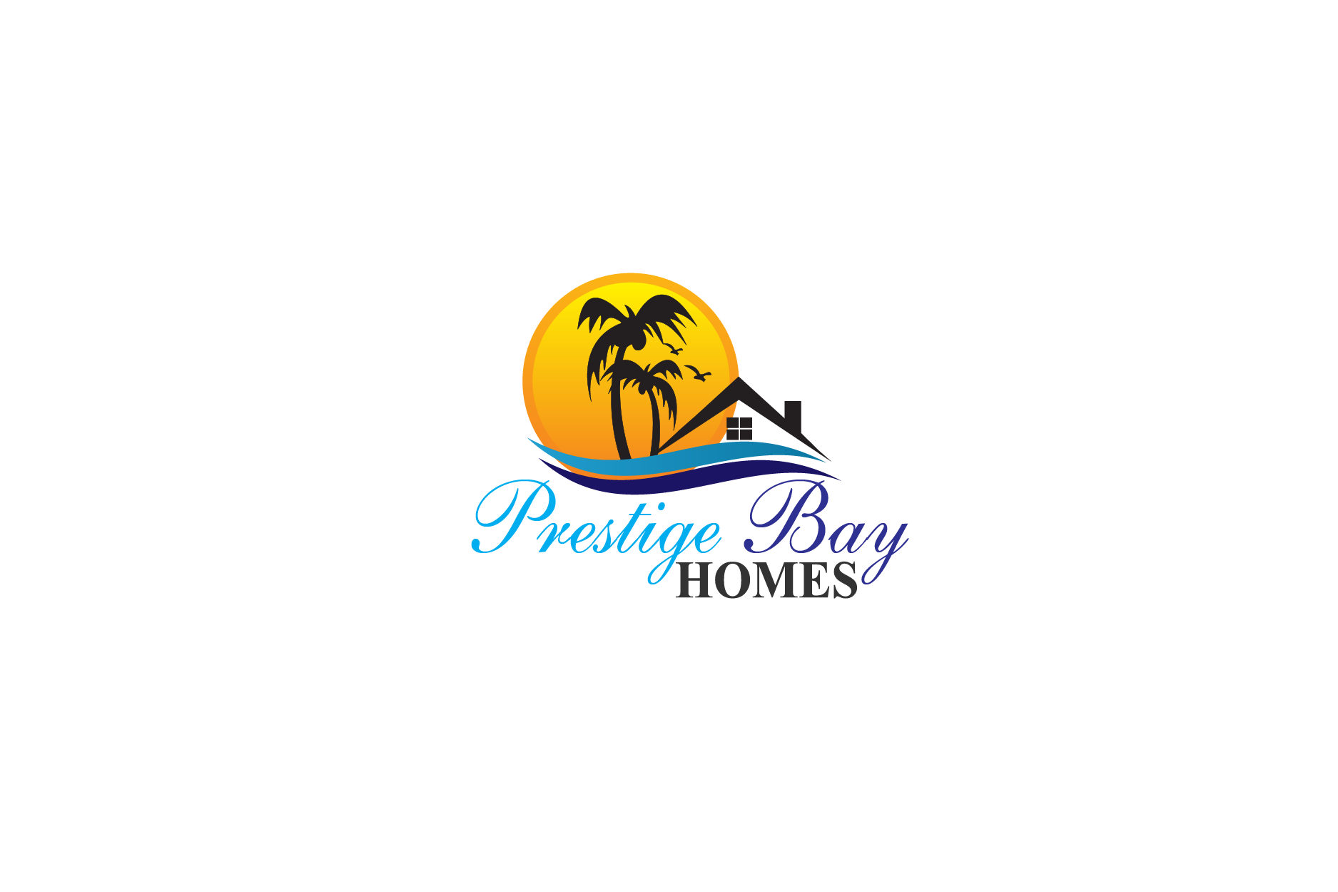 Logo Design by Private User - Entry No. 107 in the Logo Design Contest Imaginative Logo Design for Prestige Bay Homes.