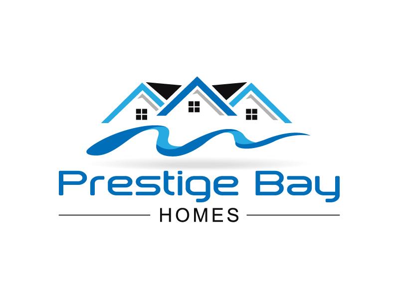 Logo Design by NATARAJAN Rajan - Entry No. 110 in the Logo Design Contest Imaginative Logo Design for Prestige Bay Homes.