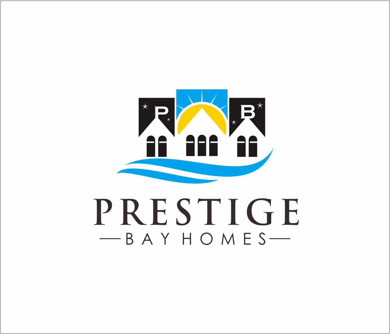 Logo Design by Armada Jamaluddin - Entry No. 112 in the Logo Design Contest Imaginative Logo Design for Prestige Bay Homes.