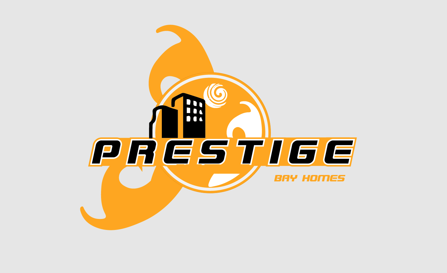 Logo Design by Private User - Entry No. 113 in the Logo Design Contest Imaginative Logo Design for Prestige Bay Homes.