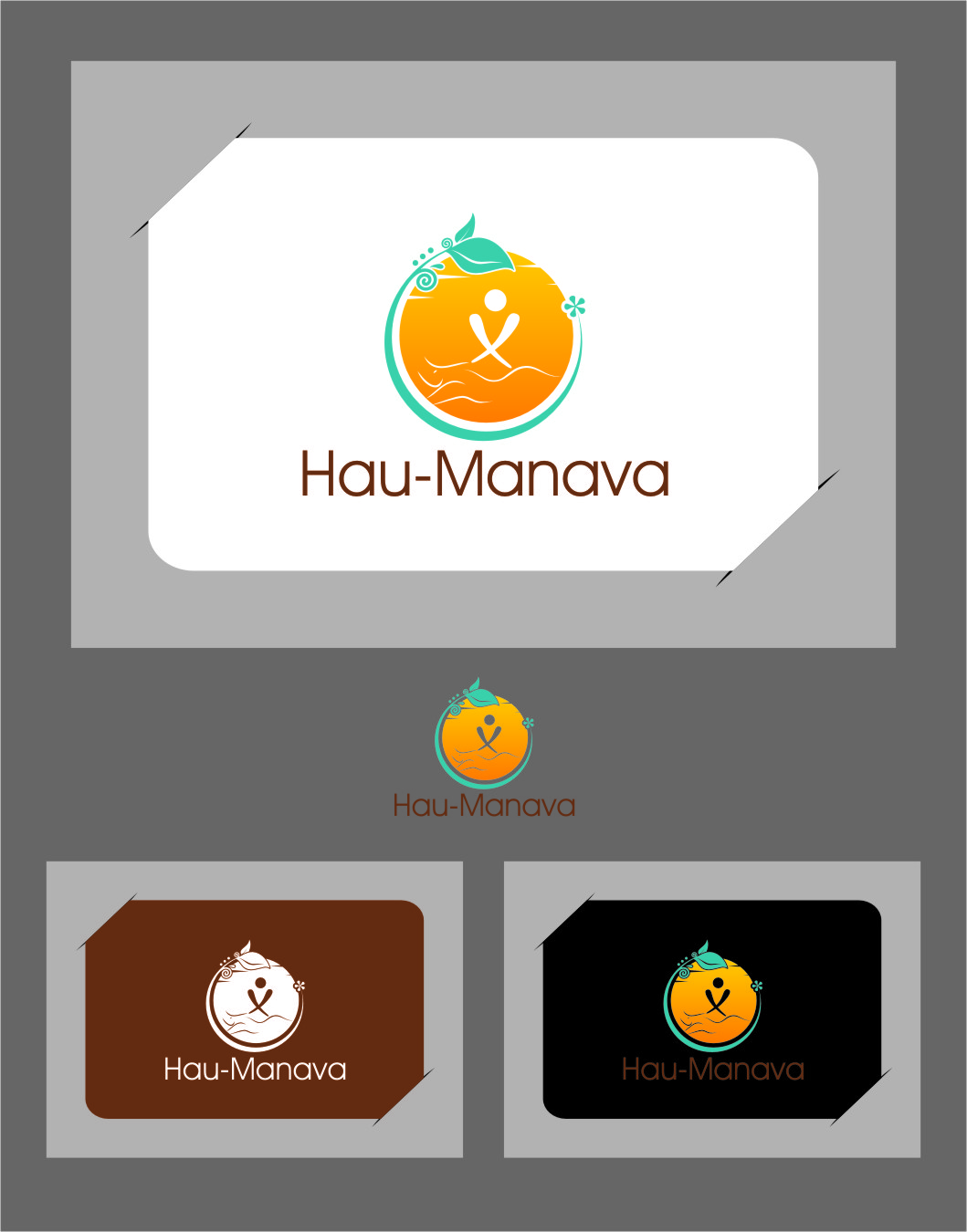 Logo Design by Ngepet_art - Entry No. 10 in the Logo Design Contest Hau-Manava Logo Design.