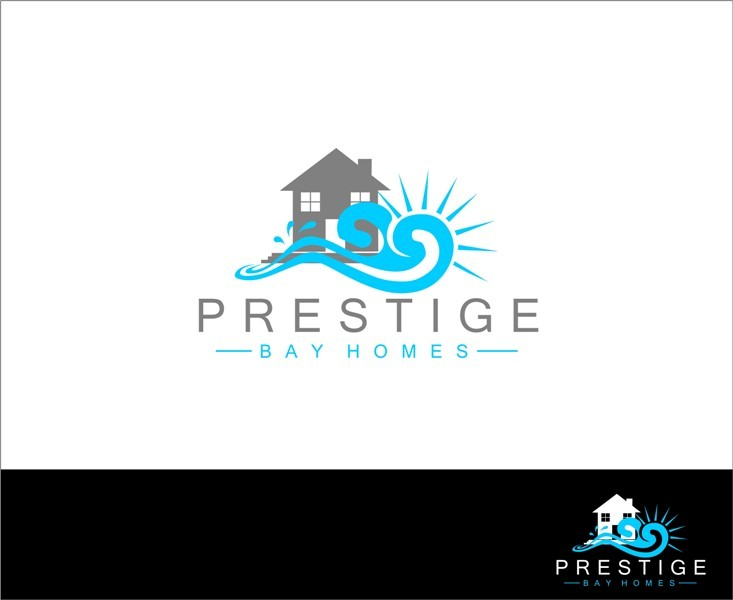 Logo Design by Mhon_Rose - Entry No. 117 in the Logo Design Contest Imaginative Logo Design for Prestige Bay Homes.