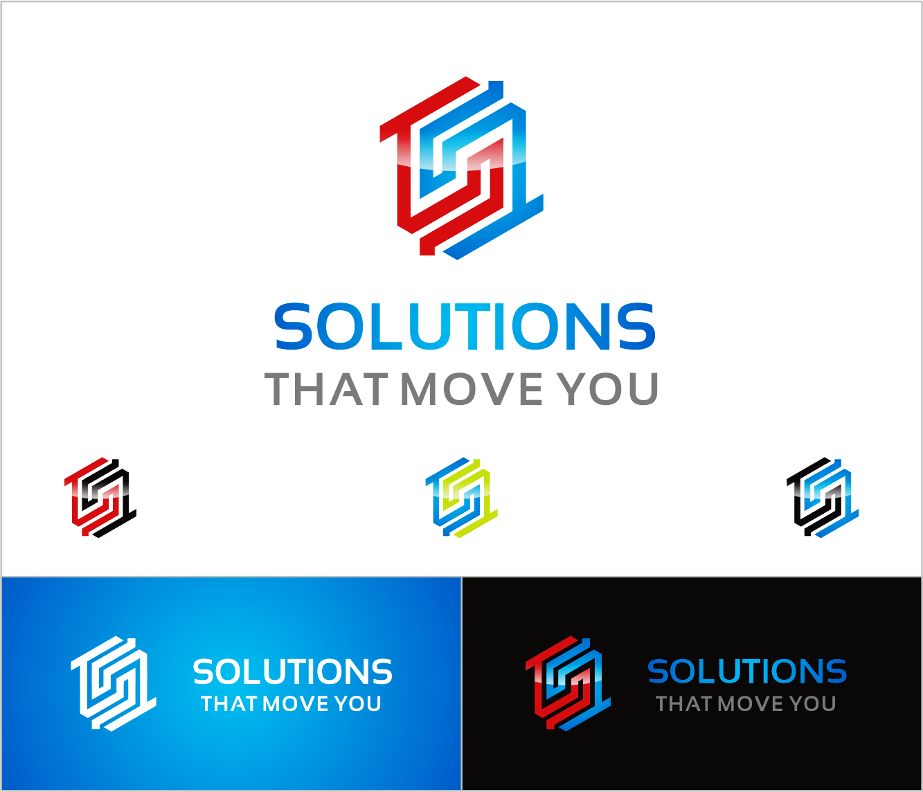Logo Design by Armada Jamaluddin - Entry No. 51 in the Logo Design Contest Imaginative Logo Design for Solutions That Move You.
