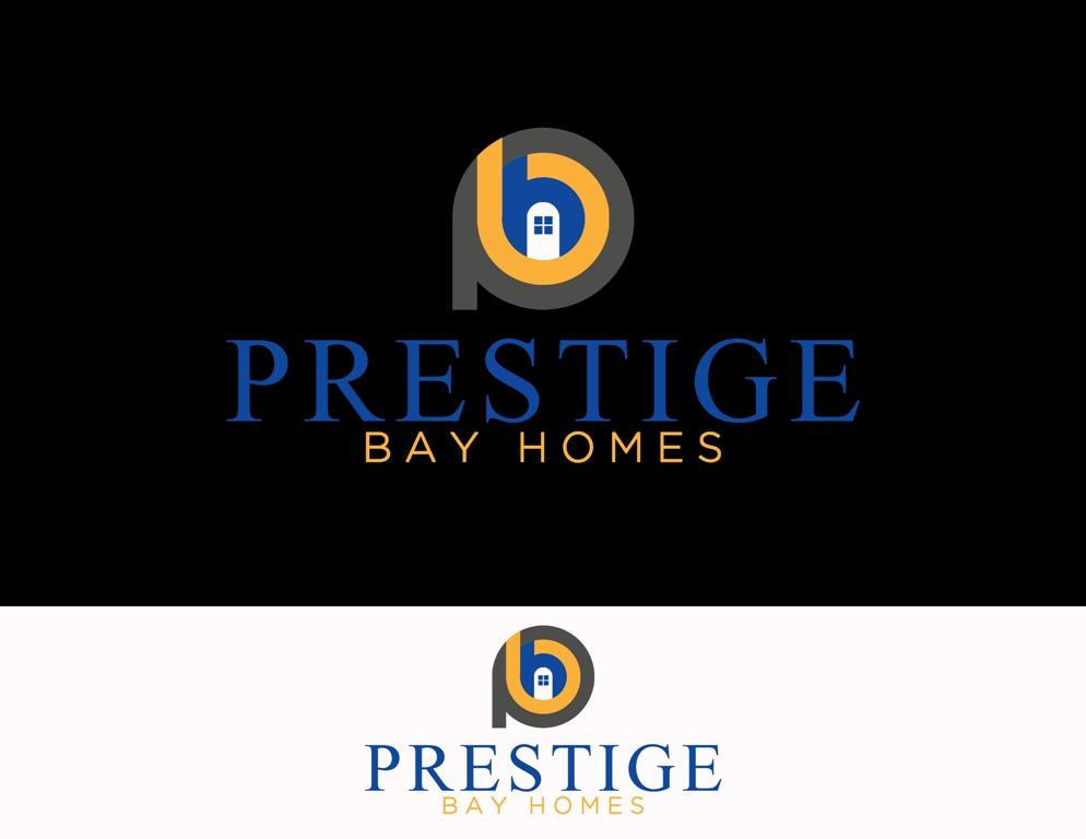 Logo Design by Juan_Kata - Entry No. 128 in the Logo Design Contest Imaginative Logo Design for Prestige Bay Homes.