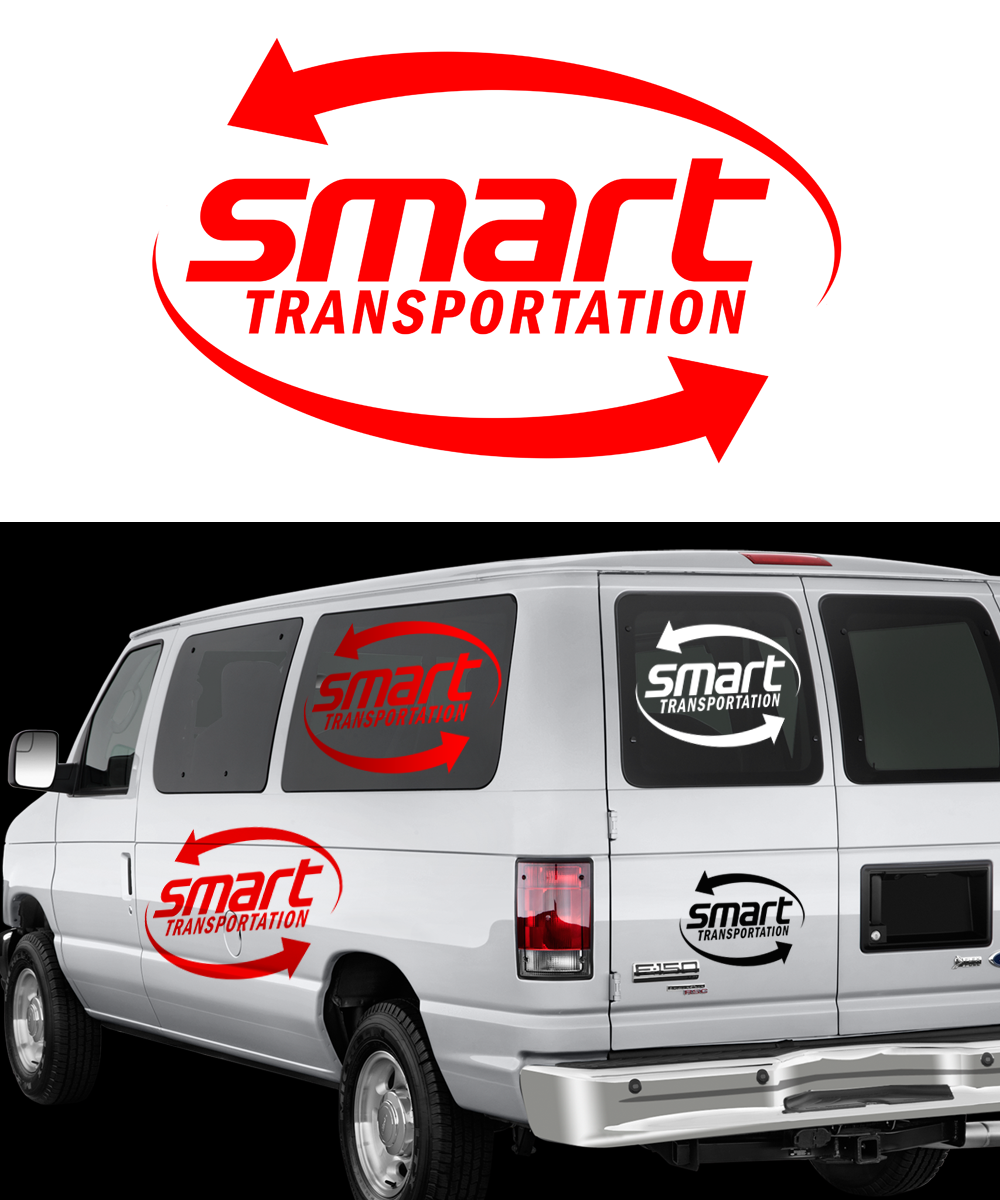 Logo Design by Private User - Entry No. 16 in the Logo Design Contest Imaginative Logo Design for Smart Transportation.