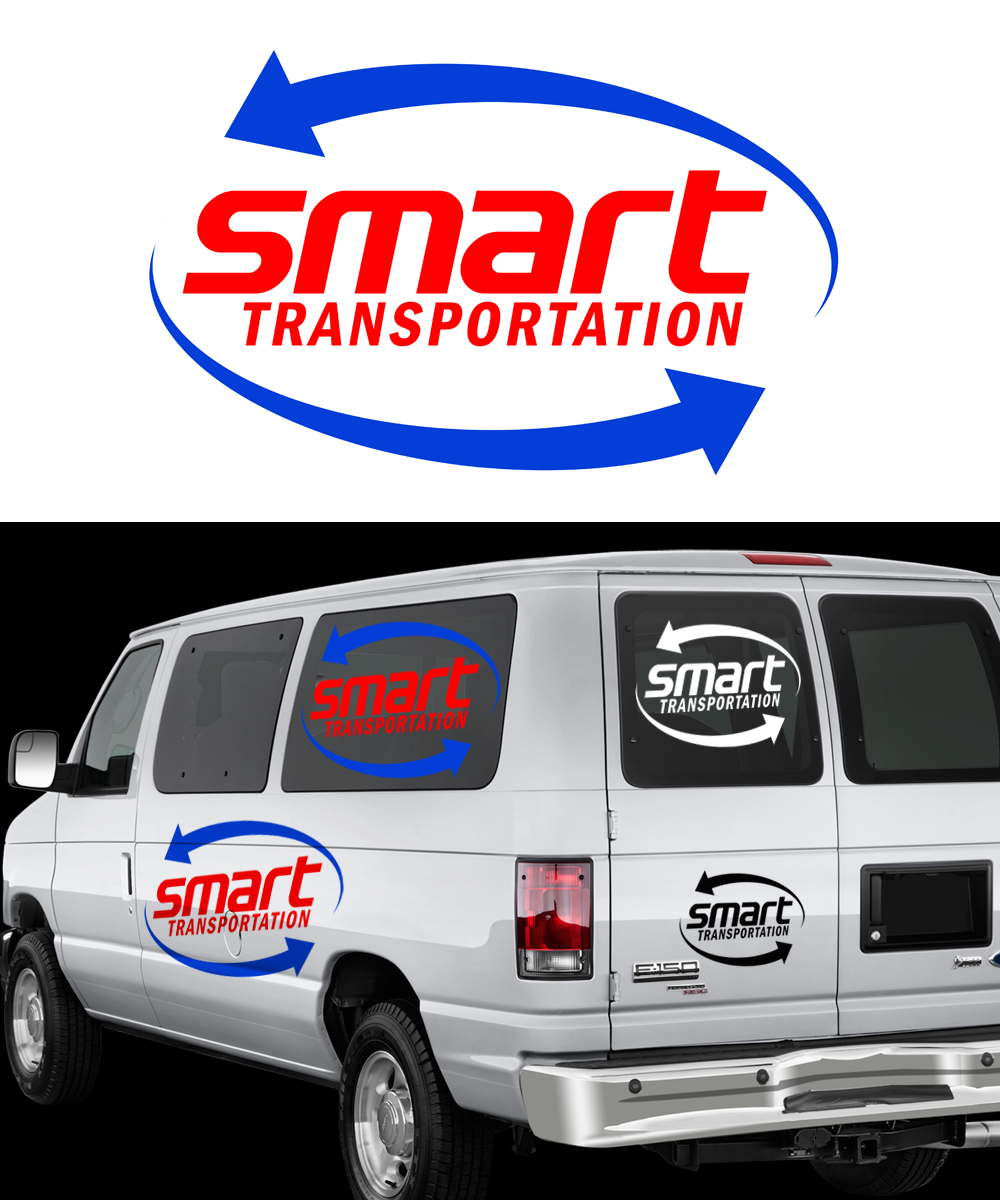Logo Design by Robert Turla - Entry No. 17 in the Logo Design Contest Imaginative Logo Design for Smart Transportation.