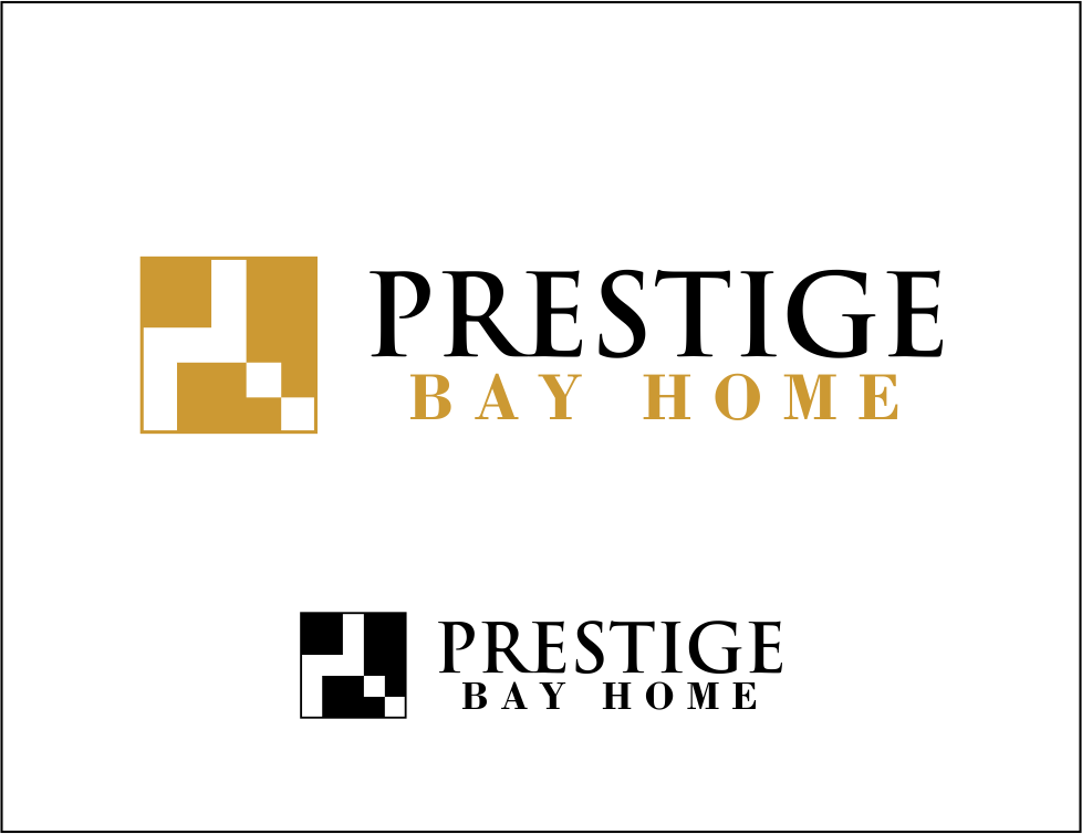 Logo Design by Agus Martoyo - Entry No. 138 in the Logo Design Contest Imaginative Logo Design for Prestige Bay Homes.