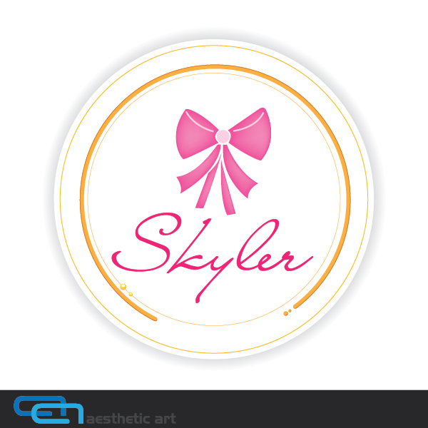 Logo Design by aesthetic-art - Entry No. 118 in the Logo Design Contest Skyler Clothing Logo.