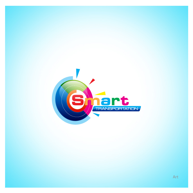 Logo Design by Puspita Wahyuni - Entry No. 22 in the Logo Design Contest Imaginative Logo Design for Smart Transportation.