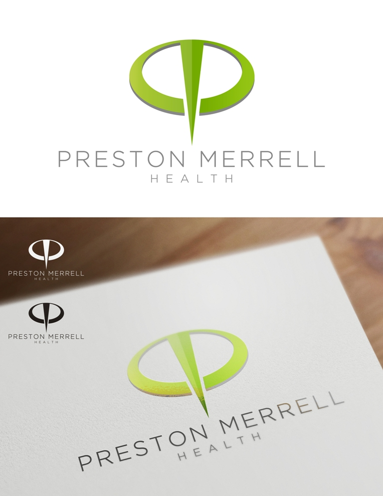 Logo Design by Juan_Kata - Entry No. 15 in the Logo Design Contest Creative Logo Design for Preston Merrell Health.