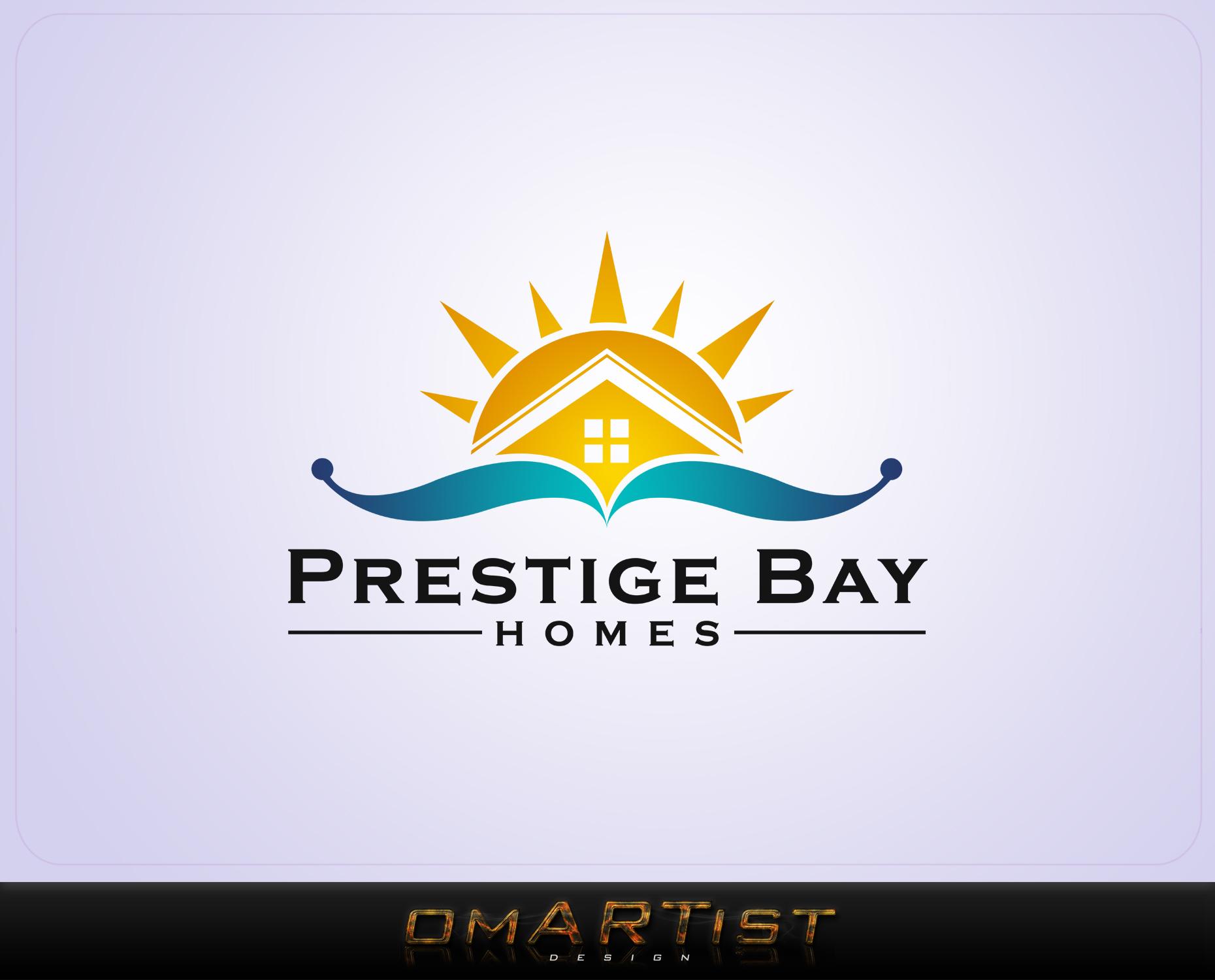 Logo Design by omARTist - Entry No. 141 in the Logo Design Contest Imaginative Logo Design for Prestige Bay Homes.