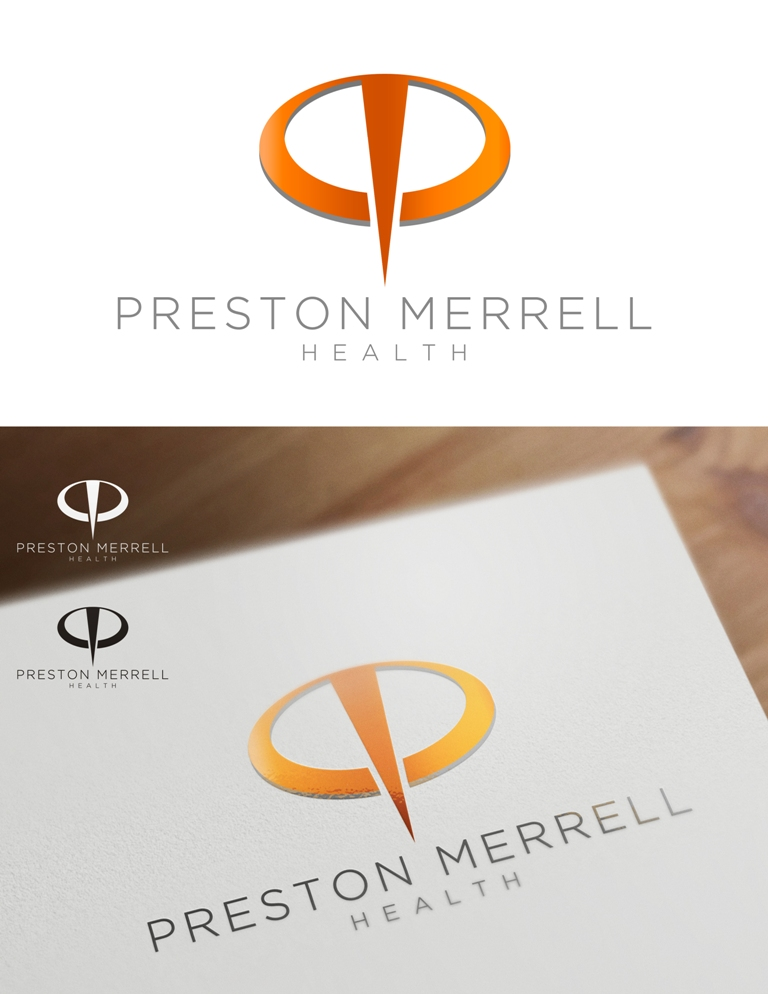 Logo Design by Juan_Kata - Entry No. 18 in the Logo Design Contest Creative Logo Design for Preston Merrell Health.