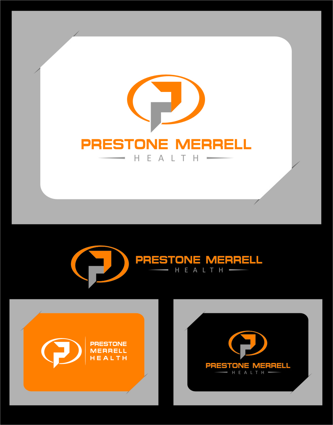 Logo Design by Ngepet_art - Entry No. 20 in the Logo Design Contest Creative Logo Design for Preston Merrell Health.