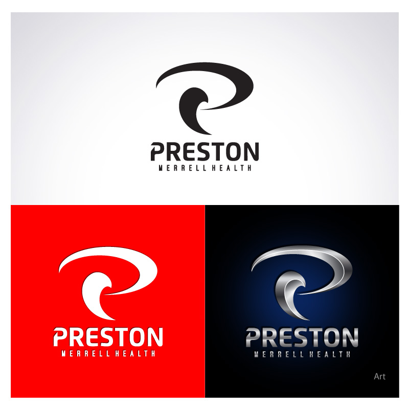 Logo Design by Puspita Wahyuni - Entry No. 21 in the Logo Design Contest Creative Logo Design for Preston Merrell Health.