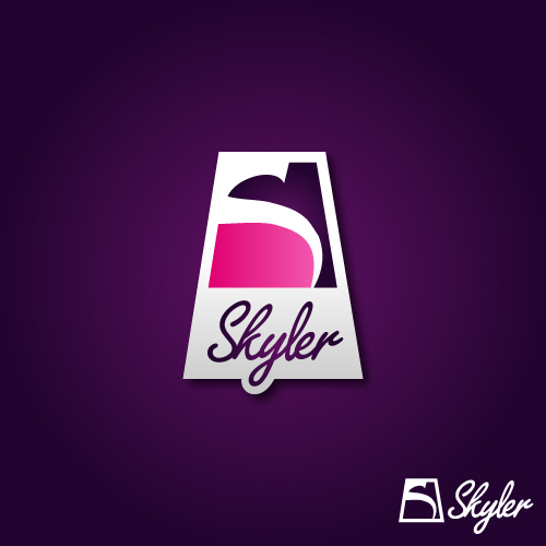 Logo Design by SilverEagle - Entry No. 128 in the Logo Design Contest Skyler Clothing Logo.