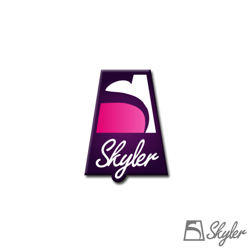 Logo Design by SilverEagle - Entry No. 129 in the Logo Design Contest Skyler Clothing Logo.