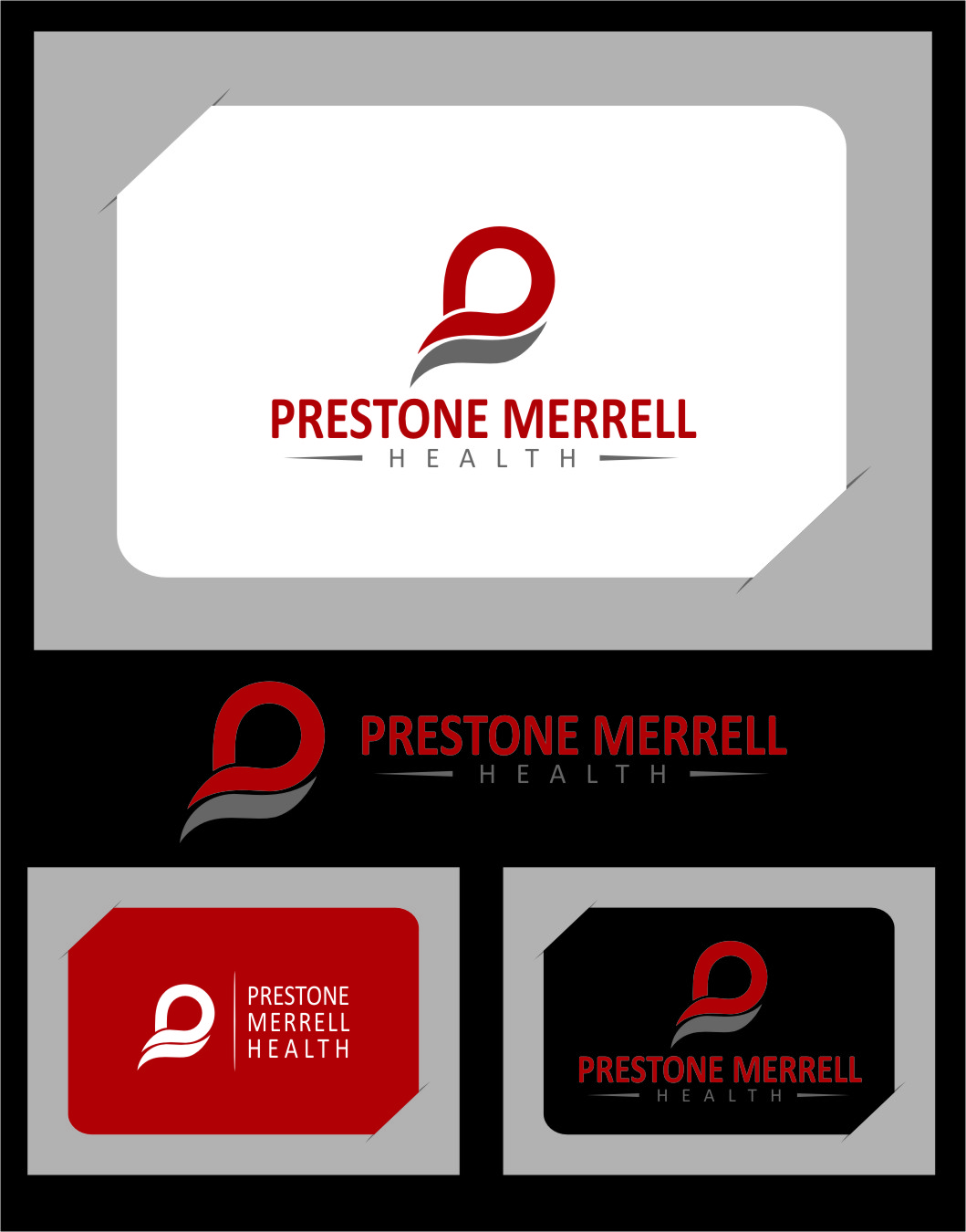 Logo Design by Ngepet_art - Entry No. 24 in the Logo Design Contest Creative Logo Design for Preston Merrell Health.