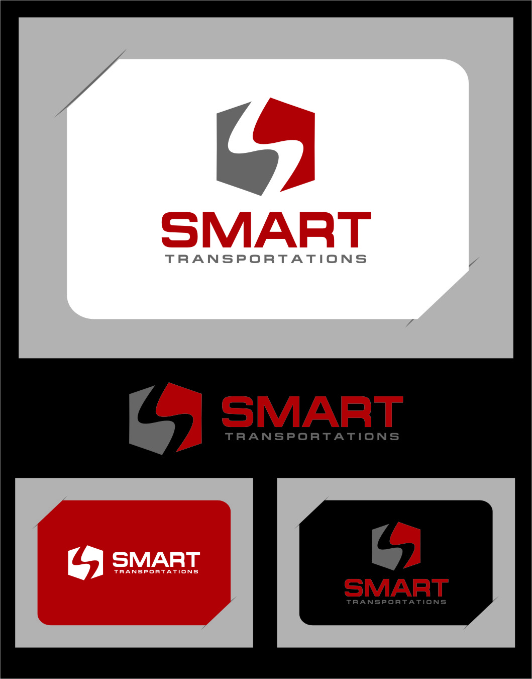 Logo Design by RasYa Muhammad Athaya - Entry No. 35 in the Logo Design Contest Imaginative Logo Design for Smart Transportation.