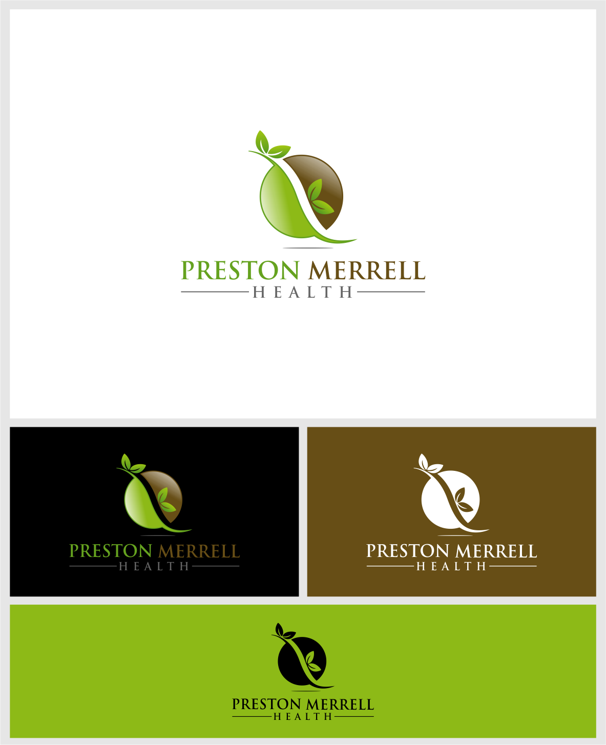 Logo Design by haidu - Entry No. 29 in the Logo Design Contest Creative Logo Design for Preston Merrell Health.