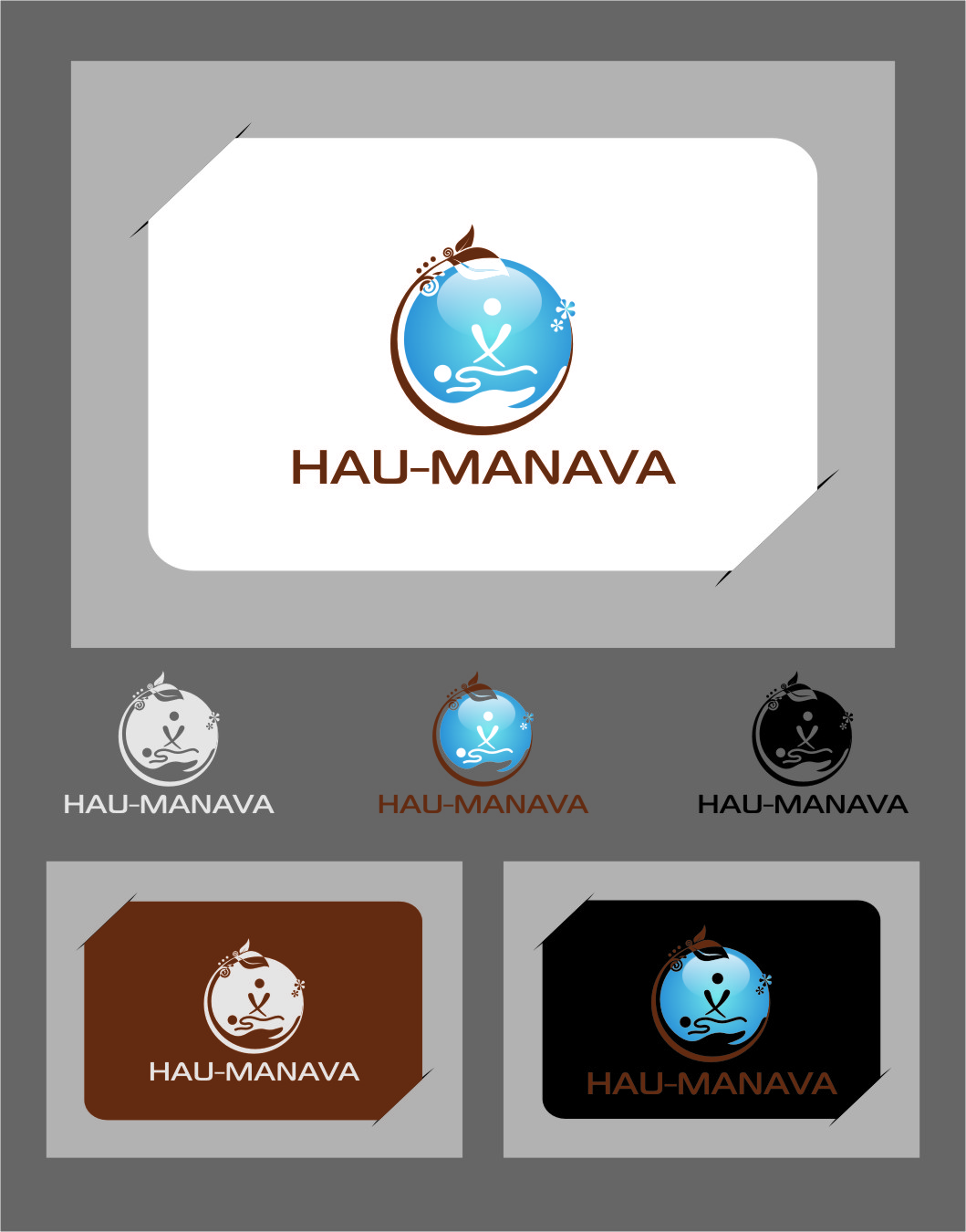 Logo Design by RasYa Muhammad Athaya - Entry No. 25 in the Logo Design Contest Hau-Manava Logo Design.