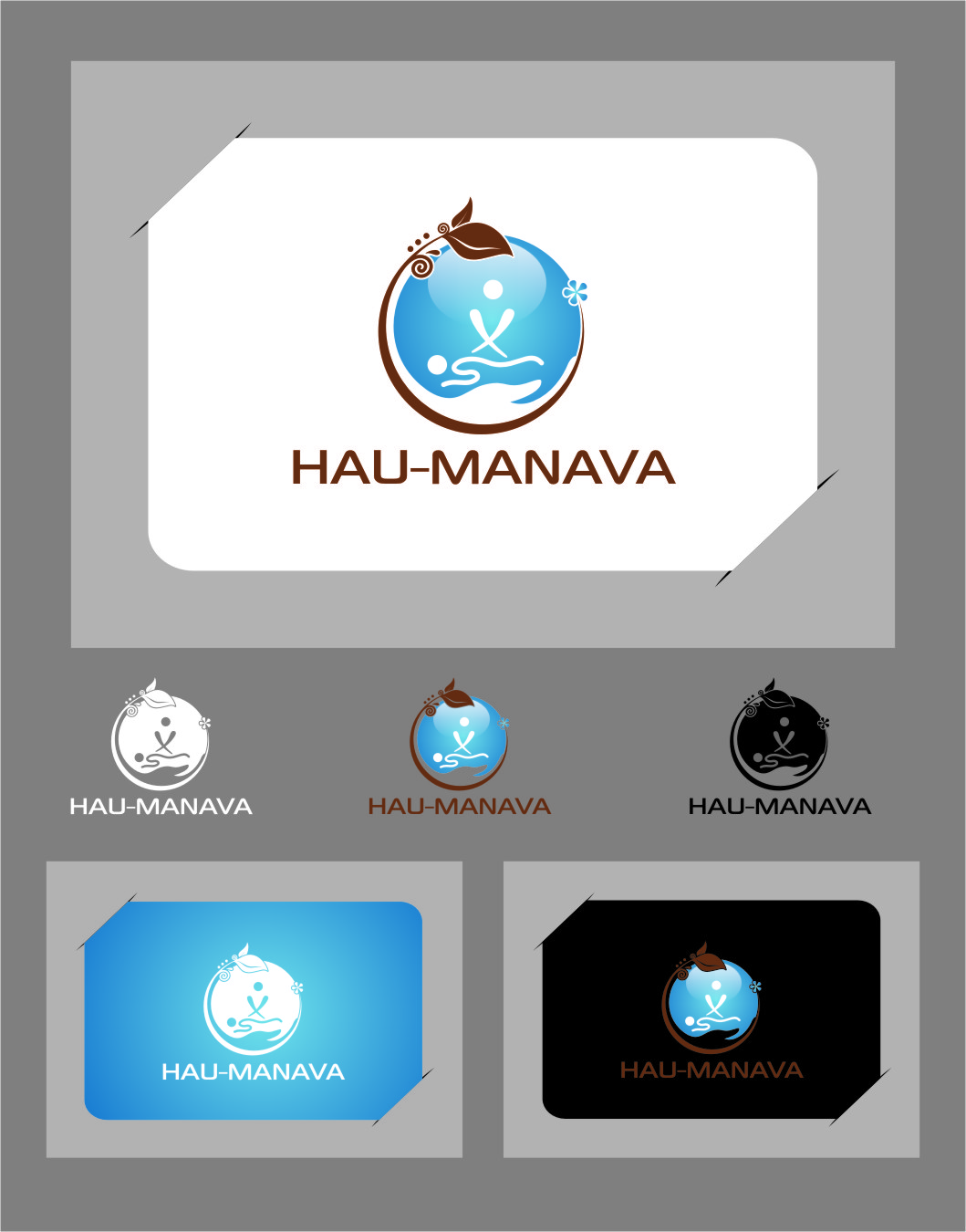 Logo Design by RasYa Muhammad Athaya - Entry No. 26 in the Logo Design Contest Hau-Manava Logo Design.