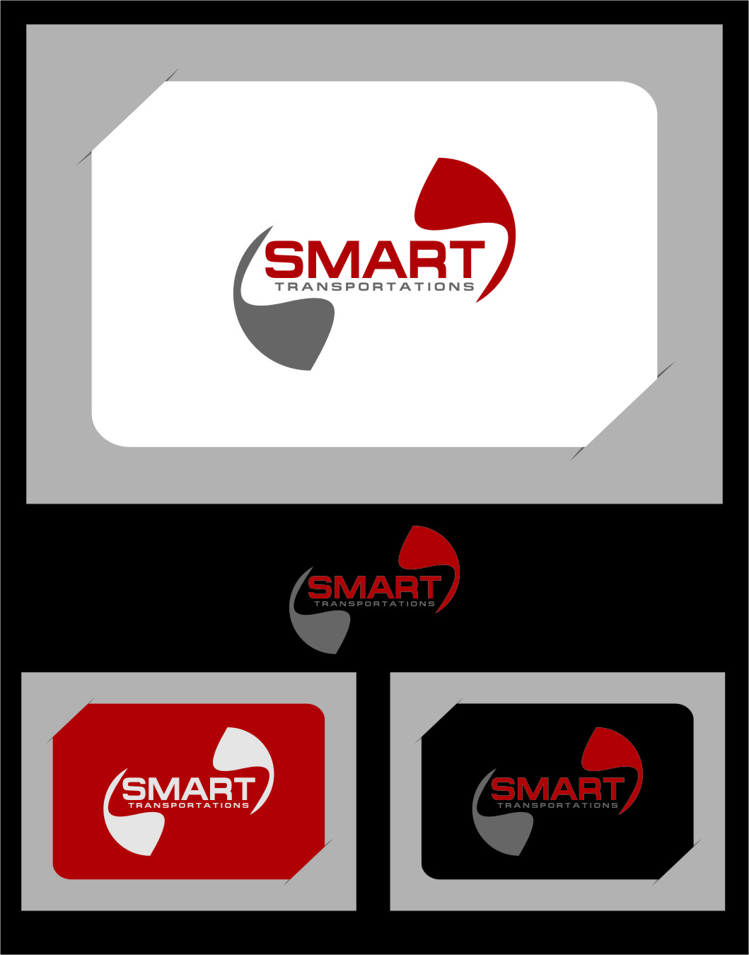 Logo Design by RasYa Muhammad Athaya - Entry No. 44 in the Logo Design Contest Imaginative Logo Design for Smart Transportation.