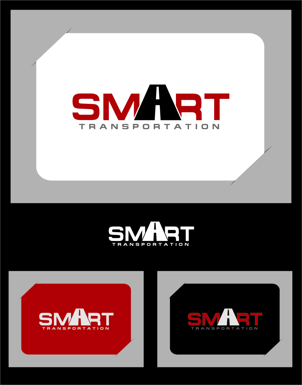 Logo Design by RasYa Muhammad Athaya - Entry No. 45 in the Logo Design Contest Imaginative Logo Design for Smart Transportation.