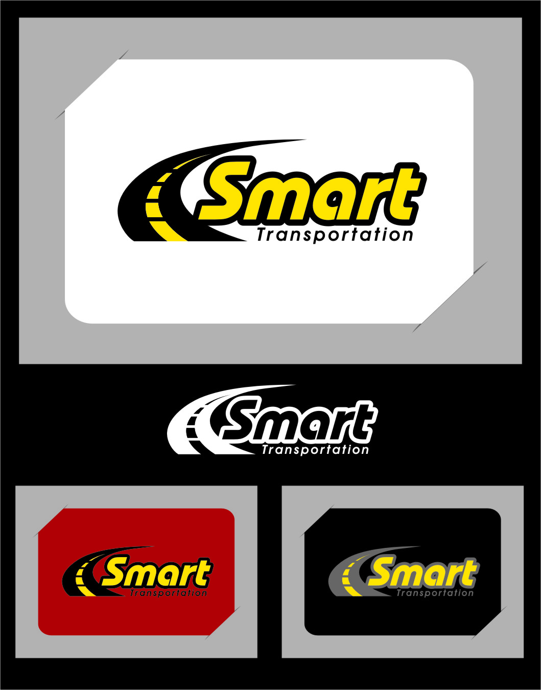 Logo Design by RasYa Muhammad Athaya - Entry No. 46 in the Logo Design Contest Imaginative Logo Design for Smart Transportation.