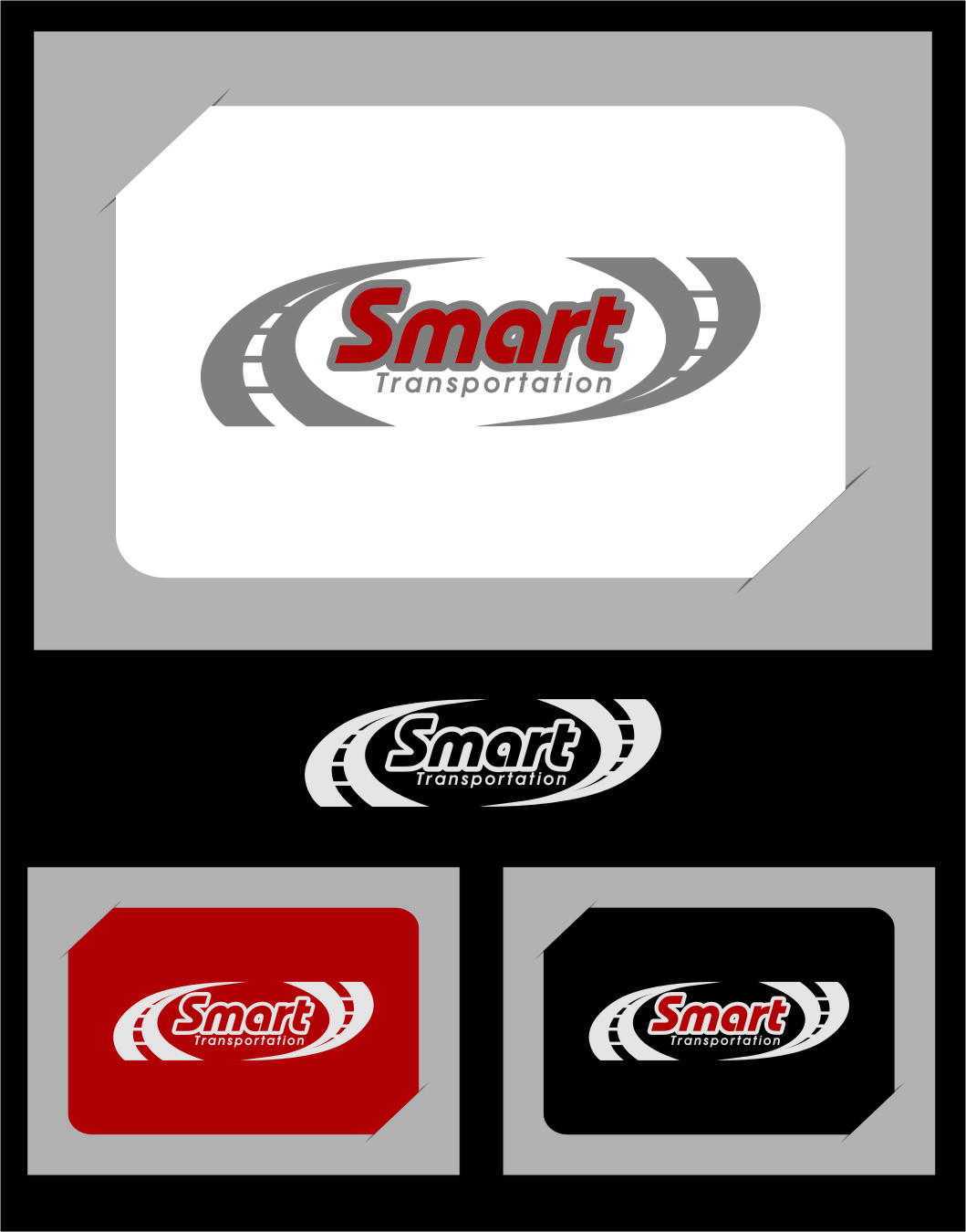 Logo Design by RasYa Muhammad Athaya - Entry No. 47 in the Logo Design Contest Imaginative Logo Design for Smart Transportation.