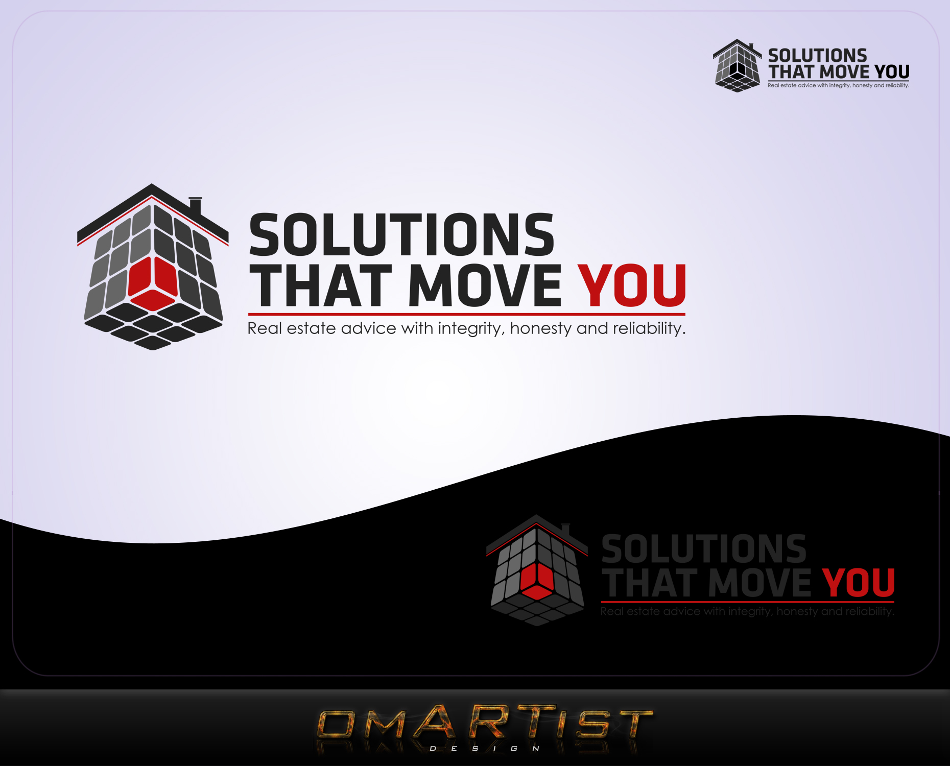 Logo Design by omARTist - Entry No. 95 in the Logo Design Contest Imaginative Logo Design for Solutions That Move You.