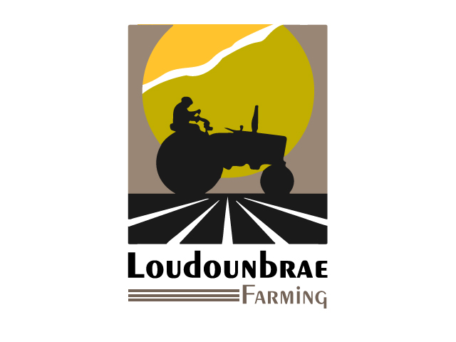 Logo Design by ronik.web - Entry No. 5 in the Logo Design Contest Creative Logo Design for Loudounbrae Farming.