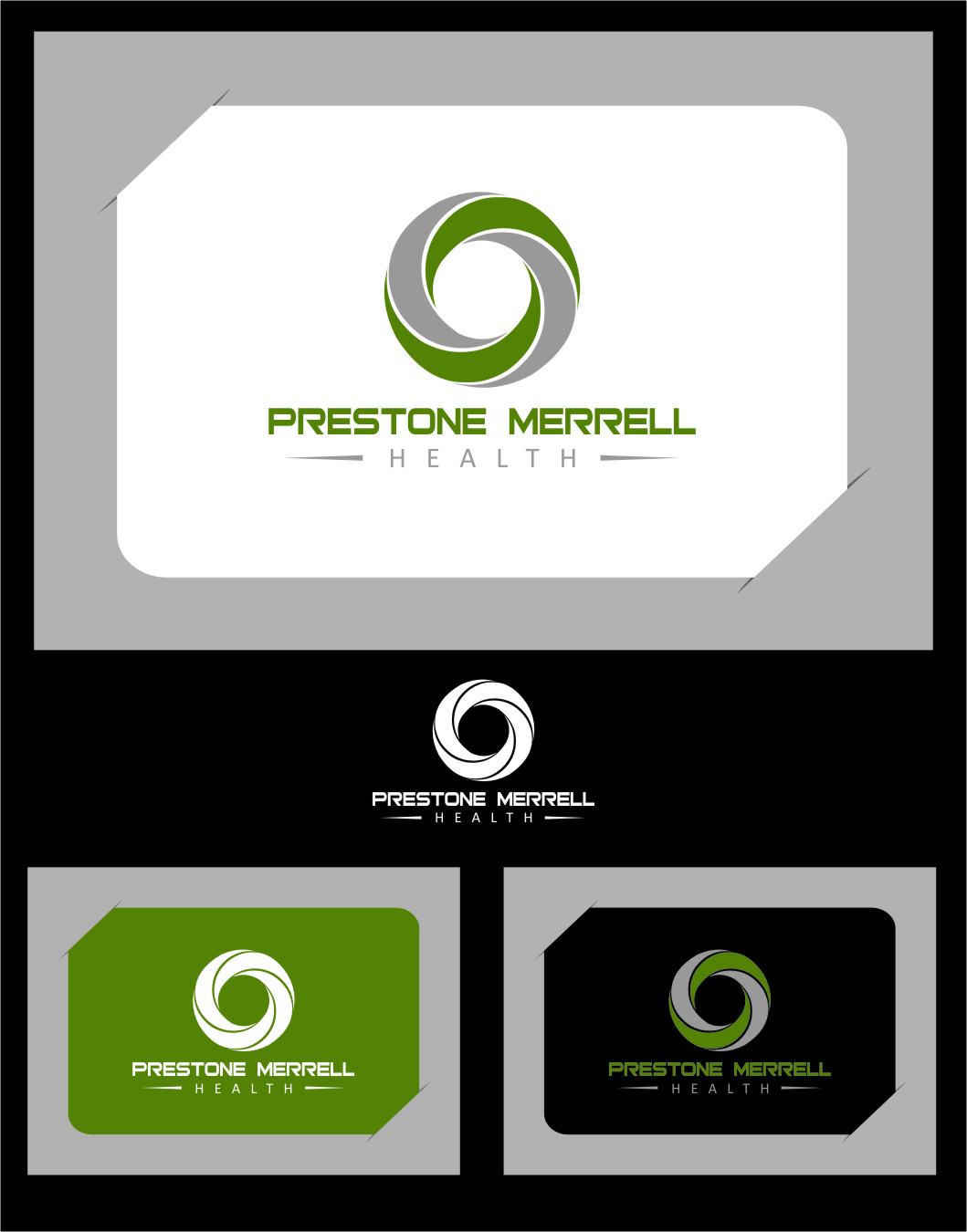 Logo Design by RasYa Muhammad Athaya - Entry No. 34 in the Logo Design Contest Creative Logo Design for Preston Merrell Health.