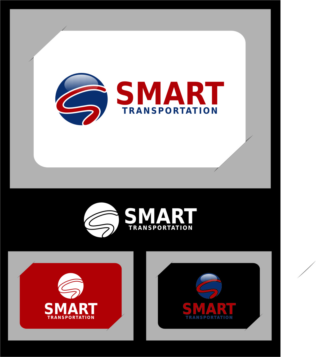 Logo Design by RasYa Muhammad Athaya - Entry No. 58 in the Logo Design Contest Imaginative Logo Design for Smart Transportation.