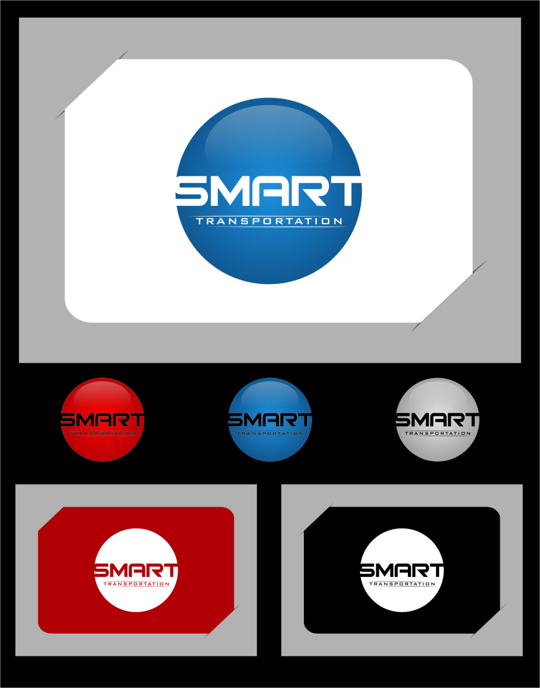 Logo Design by RasYa Muhammad Athaya - Entry No. 60 in the Logo Design Contest Imaginative Logo Design for Smart Transportation.