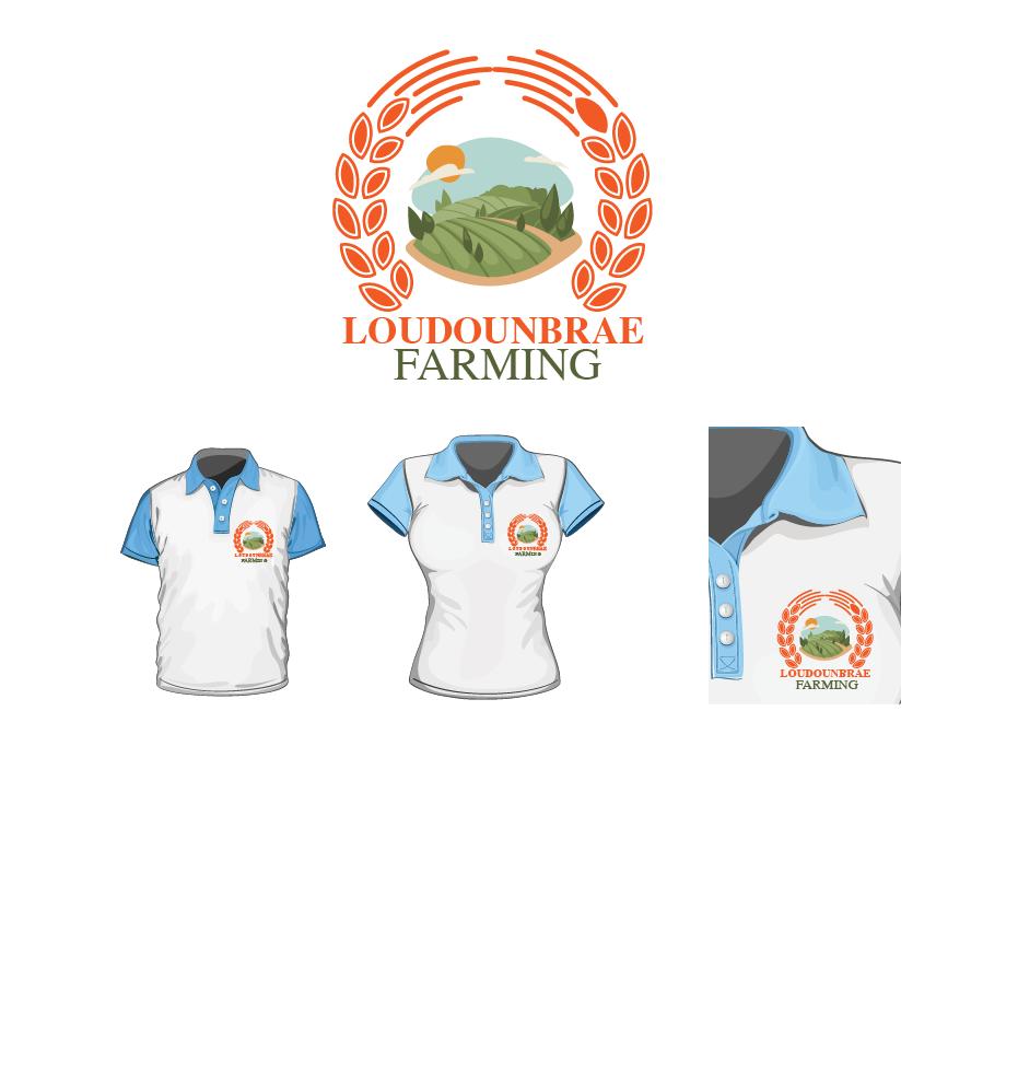 Logo Design by brands_in - Entry No. 10 in the Logo Design Contest Creative Logo Design for Loudounbrae Farming.
