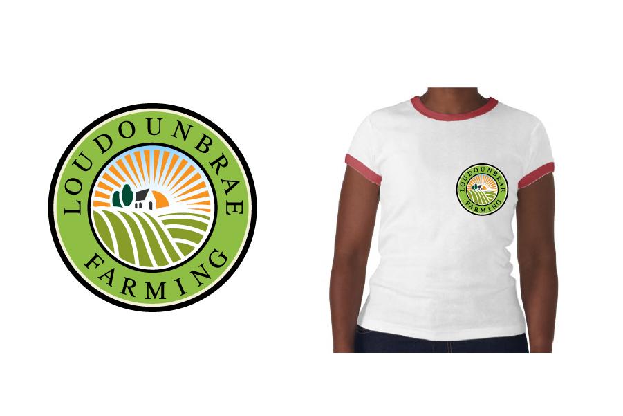 Logo Design by Private User - Entry No. 12 in the Logo Design Contest Creative Logo Design for Loudounbrae Farming.