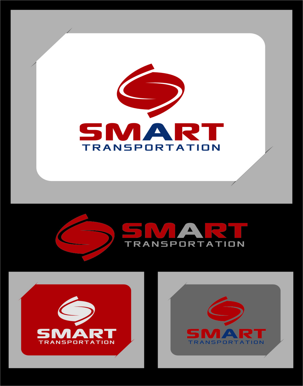Logo Design by RasYa Muhammad Athaya - Entry No. 67 in the Logo Design Contest Imaginative Logo Design for Smart Transportation.