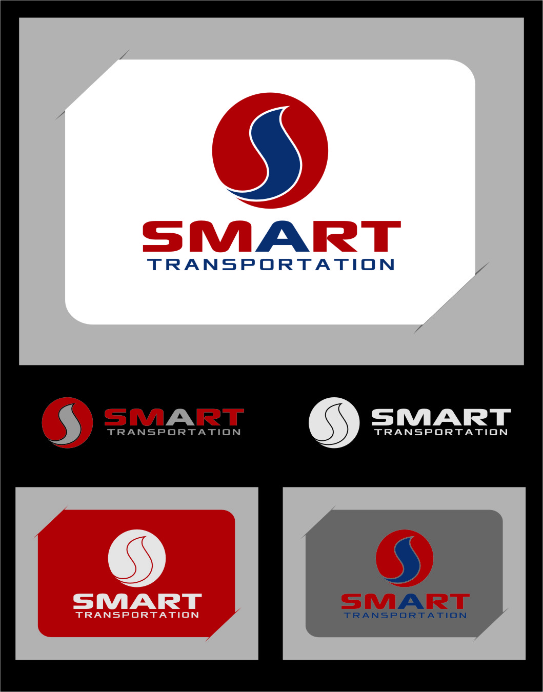 Logo Design by RasYa Muhammad Athaya - Entry No. 68 in the Logo Design Contest Imaginative Logo Design for Smart Transportation.