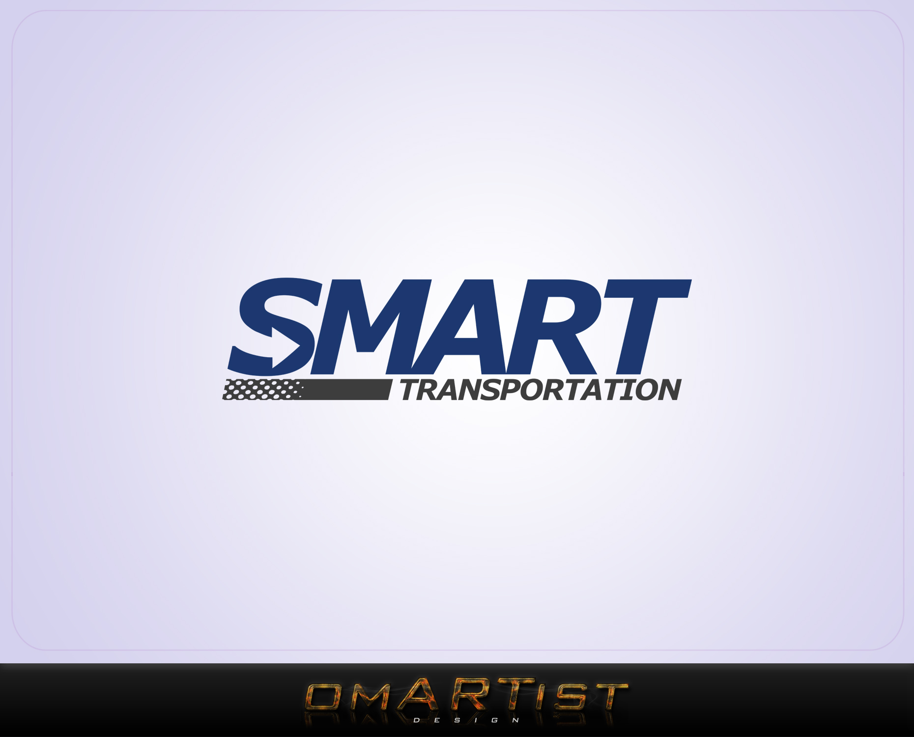 Logo Design by omARTist - Entry No. 77 in the Logo Design Contest Imaginative Logo Design for Smart Transportation.